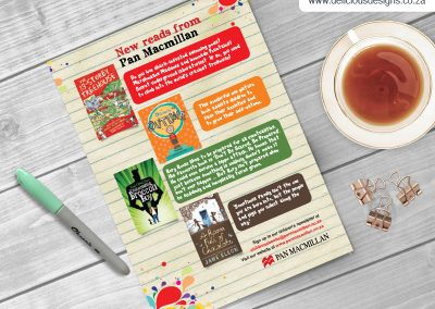 Pan Macmillan Marketing Material - Kids Books