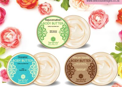 Serenity Luxury Beauty Range