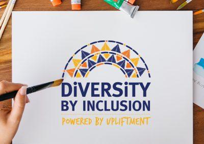 Diversity Through Inclusion Logo Design