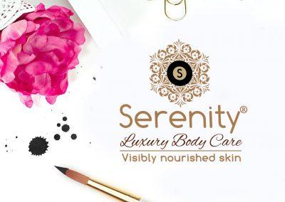Serenity Luxury Beauty Care brand development