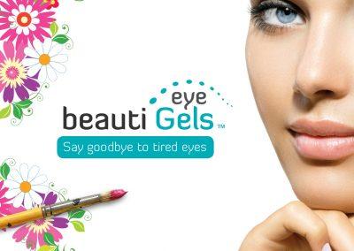 beauti eyeGels - brand development