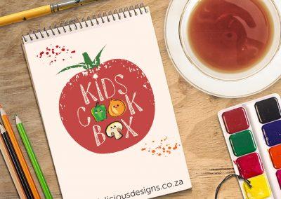 Kid's Cook Box Logo Design