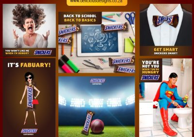 Snickers Social Media Campaigns