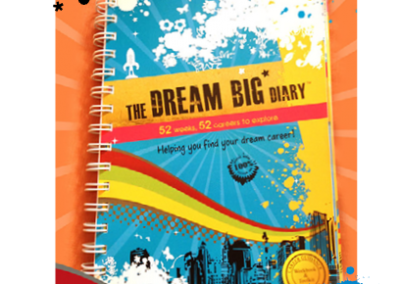 The Dream Big Diary Book Design & Layout