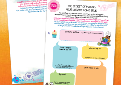 The Delicious Dream Big Activity Book